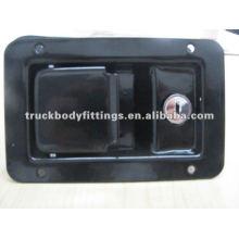 Caminhão Lidar Com Caixa De Ferramentas De Bloqueio Paddle Trava Underbody Tray Lock Truck Door Lock