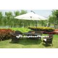 Muebles de jardín de mimbre de mimbre Bg-005