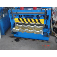galvanize tile roll forming machine with PLC control system