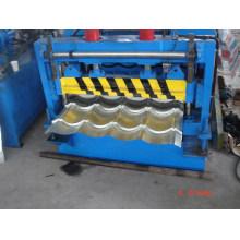 Galvanizar máquina de formação de rolo de telha com sistema de controle PLC