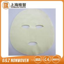 La mejor calidad cuidado de la piel personal Aloe vera fibra cupra tencel sal de algas máscara facial