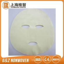 Meilleure qualité soins personnels de la peau Aloe vera fibre cupra tencel algues sel masque facial