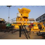 Qingzhou mixing machine for wet concrete JS750 with ladder
