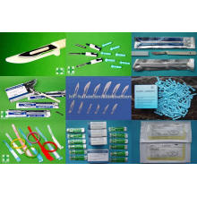 Suture, Blade, Scalpel, Lancet, Umbilical Cord Clamp, ID Bracelet and Air Way