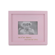 Cute Baby Wooden Picture Photo Frame for Home Deco
