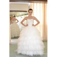 EN STOCK Off-The-Hombro vestido de novia sin mangas vestido de novia vestidos de novia SW92