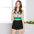 2016 Summer Women′s New Design Printing Tank Tops Without Sleeves