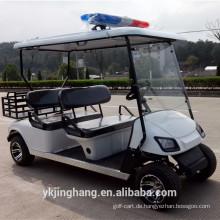 Günstige 4 Sitze Cop Golfwagen mit Cargo Box aus China zu verkaufen