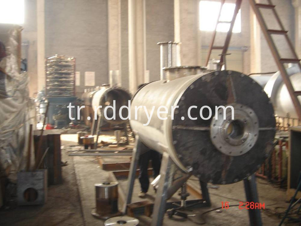 Vacuum Rake Dryer/ZPD Vacuum Harrow Dryer