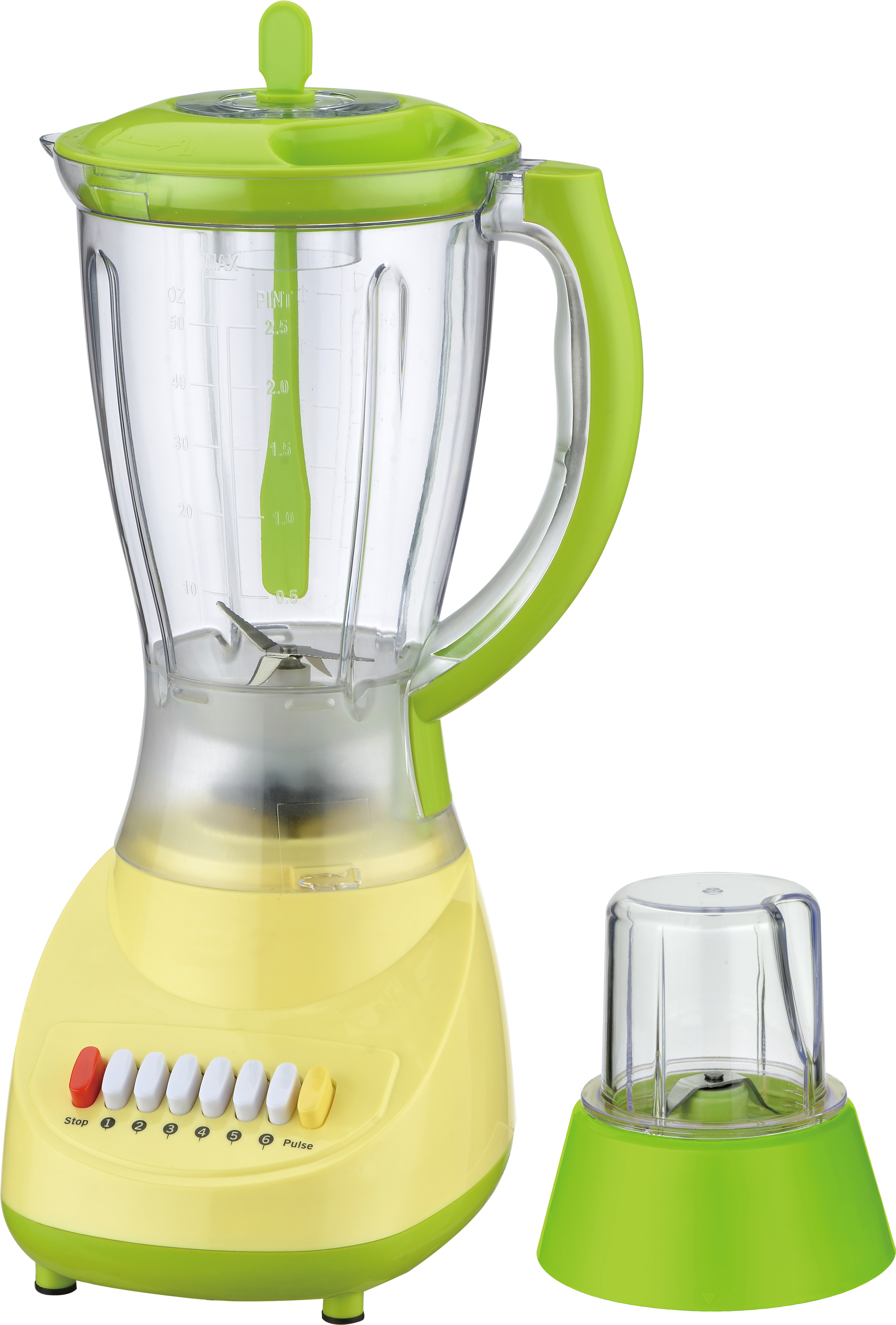 Green Blender with Grinder