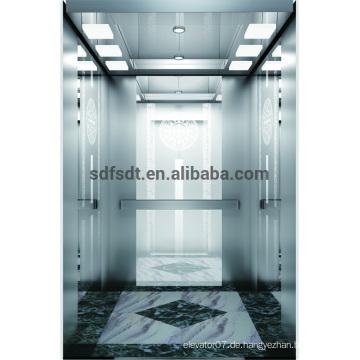 Gebäude billige Passagier Wohn-Lift / Aufzug der FuJi-Technologie, Fabrik Fertigung Aufzug Preis