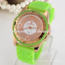 Relojes de moda relojes de silicona