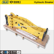 75 mm box type soosan hydraulic rock breaker for 4-7ton excavator