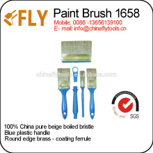 china pure beige bristle paint brushes