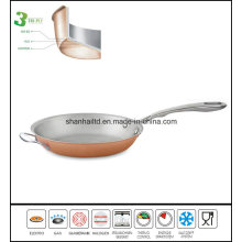 Copper Cookware Fry Pan