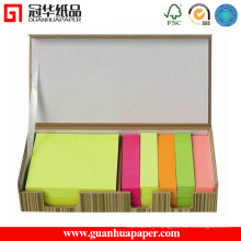 Hot Sale Paper Cube, Sticky Notes with Wooden Pallet