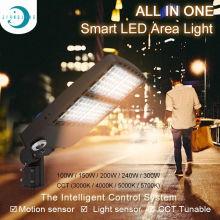 Светильник для коробки для обуви Фотоэлемент 150Вт Светодиодный прожектор