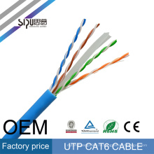 Заводская цена СИПУ кабель cat6 сетевой кабель высокое качество 0.56 медный кабель UTP cat6 кабель локальной сети