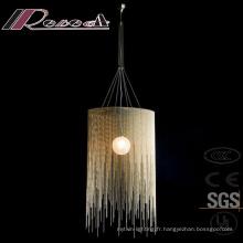 Vente chaude Moderne Simple Décoratif Cordes Pendentif Lampe
