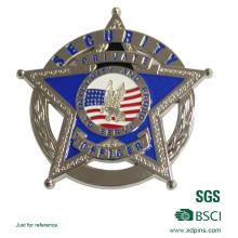 Agente de segurança de honra moeda Metal Made