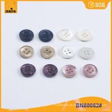 Qualität Graviertes Logo Shirt Trocas Button BN80062