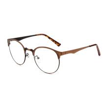Marcos ópticos de metal de alta calidad gafas de ojo marcos de vidrio