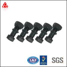 Diferentes estilos de carbono de acero rueda perno tuerca