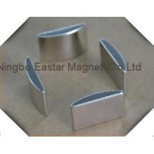Permanente Bogen Segment Magnet für Motor
