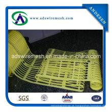 Cerca de plástico amarelo, cerca de segurança