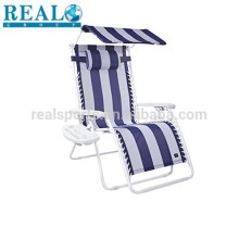 Folding Beach Chair With Sun Shade Picnic Camping Beach Foldable Chair Picnic Camping Beach Foldable Chair