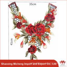Приятные цвета кружевной отделкой для одежды Mc0002