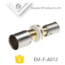 EM-F-A012 Compression Connecting Brass Union Pipe Fitting