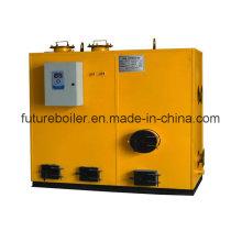 Generador de vapor de pellets compacto de aserrín