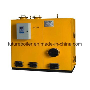 Compact Sawdust Pellet Steam Generator