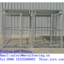Animal playing fences galvanized steel pet fences metal panels pet fences folding pet fences