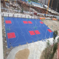 Interlocking PP Outdoor Sports Floor Tiles