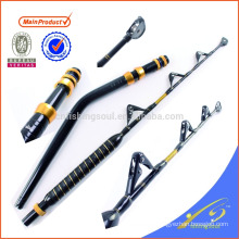 GMR023 China Supplier Game/Trolling rod Pacific Bay guides and bent butt boat rod