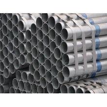 Propriétés gratuites de tuyaux en acier galvanisé à chaud à chaud