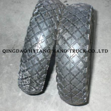 square pattern wheelbarrow tyre