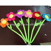 Flor artificial decorativa barata, flor flexible de la tela para la venta
