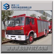 6000L Dongfeng 4X2 Camión de bomberos