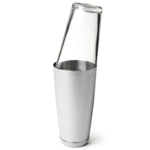 Bar Tools Stainless Steel and Glass Cocktail Set, Cocktail Shaker
