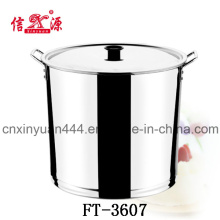 Stainless Steel High Water Bucket (FT-3607)