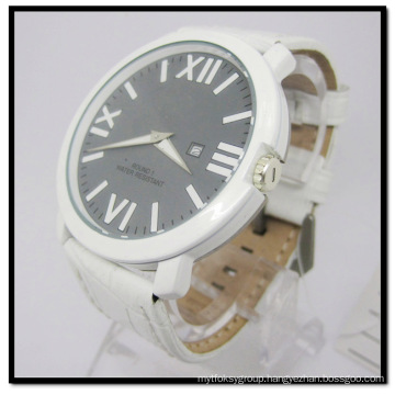 Fashion Genuine Leather Ladies Female Stainless Steel Watches