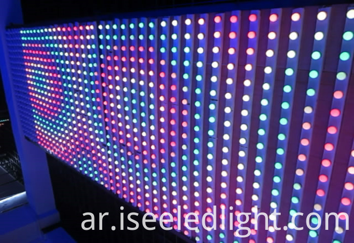 LED RGB Pixel light for wall