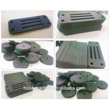 Coupe de cnc de fibre de carbone de 0.5mm 1.0mm 1.5mm 2.0mm 2.5mm, pièces de carbone coupant de commande numérique par ordinateur