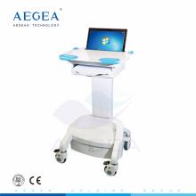 АГ-WT005 более продвинутые больницы скорой медицинской помощи регулируемого ABS высоты тетрадь медицинская рабочая станция тележки