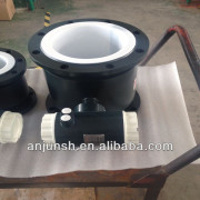 Intelligence low cost digital electromagnetic flow meter for electricity made in China (CE approved)
