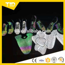Zapatos Deportivos / Cuero Reflectante Bolsa
