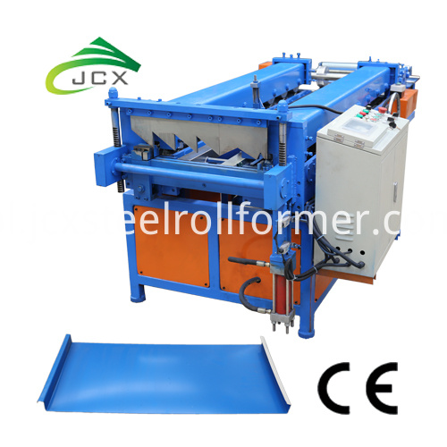 standing seam roof machine